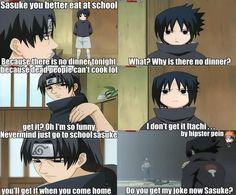 Messed up joke, Itachi! tags: sasuke uchiha naruto