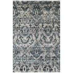 8200**Vlněný koberec Bakero Ikat Charcoal, 120x180cm