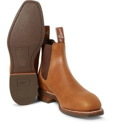 """""""You can't destroy them,"""" R.M.Williams says of its 'Comfort Craftsman' Chelsea boots - the notion applies both to their iconic status and remarkable construction. Originally designed to be worn in the rugged Australian Outback, they're made for all-day comfort and will only get better with time. Handcrafted by skilled artisans from one piece of leather, this pair is finished with oil-resistant soles."""