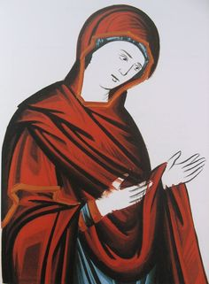 Russian Modern Orthodox Icon