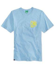 Lrg Men's Fightercat Graphic-Print Cotton T-Shirt