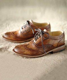 Effortlessly Cool Women's Footwear - Essayists Wingtip - Carbon2Cobalt