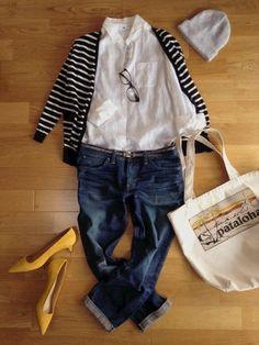 UNIQLOのシャツ・ブラウス「リネンシャツ」を使ったハナマンのコーディネートです。WEARはモデル・俳優・ショップスタッフなどの着こなしをチェックできるファッションコーディネートサイトです。 Pretty Outfits, Cool Outfits, Casual Outfits, Fashion Outfits, Diva Fashion, Womens Fashion, Tokyo Street Style, Weekend Wear, Mode Inspiration