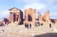 ARCHAEOLOGICAL SITE OF CARTHAGE - TUNISIA