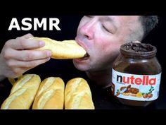 NUTELLA JAR BREAD BUNS DIPPING ASMR MUKBANG MESSY EATING - YANNIS ASMR Nutella Jar, Bread Bun, Asmr, Sausage, Dips, Eat, Food, Autonomous Sensory Meridian Response, Meal