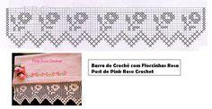 Barra+de+Croche+c+Florzinhas+Rosa+Graf.+Crochet+Edging.png (851×441)