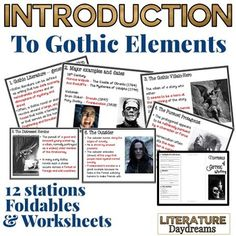 elements of a gothic novel essay 23072016 the gothic novel: what is gothic literature  elements of a gothic novel  romantic literature essay topics/thesis ideas.
