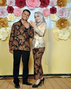 Kebaya Brokat, Kebaya Dress, Batik Fashion, Women's Fashion, Batik Couple, Simple Hijab, Kebaya Muslim, Fasion, Wedding Decorations