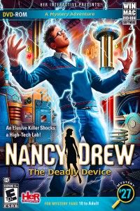 Nancy Drew The Deadly Device Review: More than 50 years after the death of Nikola Tesla, renowned scientist continuing Tesla's research is killed just before announcement of what may have been a major breakthrough. Now it is up to Nancy to bring murderer to justice without becoming latest victim of the deadly device herself.