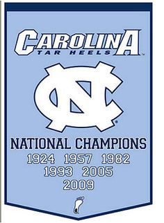 Carolina Tar Heels NATIONAL CHAMPIONS