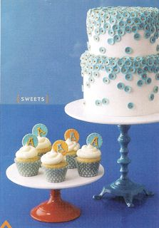 Eat Cake Be Merry: Brides April: Turquoise and Orange