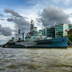 World War 2 warship with 9 decks, come and see how life was for those who served on her