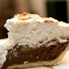 Fudgy Chocolate Cream Pie http://allrecipes.com/recipe/fudgy-chocolate-cream-pie/
