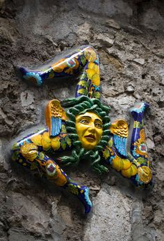 The triskellion, symbol of #Sicily, dates back to when Sicily was part of Magna Graecia, the colonial extension of Greece beyond the Aegean. Pliny the Elder attributes the origin of the triskelion of Sicily to the triangular form of the island, the ancient Trinacria (from the Greek tri- (three) and akra (end, limb)), which consists of three large capes equidistant from each other. #BnBGenius #lifeisajourney