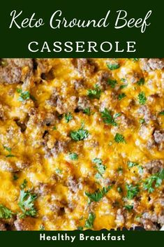 Keto Ground Beef Casserole is presumably one of my most loved keto ground meat plans. In addition to the fact that it is pressed brimming with gooey goodness, yet it's stacked with veggies also. Lunch Recipes, Salad Recipes, Keto Recipes, Breakfast Recipes, Delicious Recipes, Healthy Recipes, Easy Recipes, Healthy Vegetables, Veggies