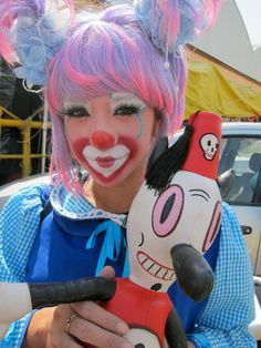 classic clown make up - Google Search