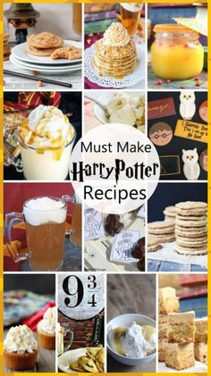 So many awesome Harry Potter food ideas. These recipes would be great for Harry … So many awesome Harry Potter food ideas. These recipes would be great for Harry Potter parties. So many fun Butterbeer ideas. Harry Potter Marathon, Harry Potter Halloween, Harry Potter Birthday, Harry Potter Treats, Harry Potter Theme Food, Diy Harry Potter, Harry Potter Desserts, Harry Potter Drinks, Harry Potter Weihnachten