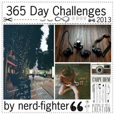 """""""365 Day Challenge"""" by girlswithtips ❤ liked on Polyvore"""