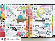 So. Much. Eye candy. this Carpe Diem planner spread from creative team member @idocumentlife !! #repost from @idocumentlife with @repostapp. My @simplestories_ #carpediemplanner spread sans photo insert. Tap for product sources. by simplestories_