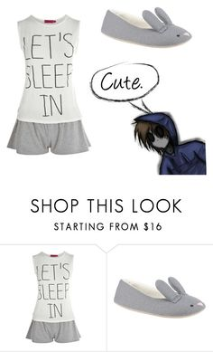 """Cute."" by ariettav ❤ liked on Polyvore featuring Boohoo, John Lewis and creepypasta"
