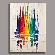 Hand+Painted+Abstract+Oil+Painting+with+Stretched+Frame+Ready+to+Hang+–+AUD+$+108.67