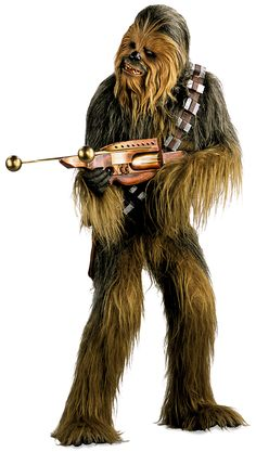 Google Image Result for http://images2.wikia.nocookie.net/__cb58378/starwars/images/7/72/Chewie19BBY-CVD.jpg -- what is that gun?? Do I need one of those?!