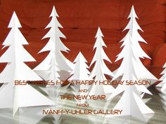 Best Wishes for a Happy Holiday Season and the New Year from Ivánffy-Uhler Gallery