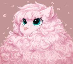 Fluff! by PeachMayFlower