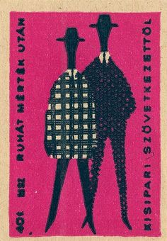 Hungary Matchbox Label