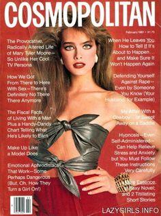 Cosmopolitan (US) February 1981 | Brooke Shields
