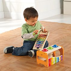 Early Melodies Wood Pounding Bench & Xylophone
