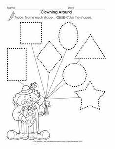 Resultado de imagem para circus activities for preschool Preschool Writing, Preschool Curriculum, Preschool Printables, Preschool Classroom, Preschool Learning, Kindergarten Worksheets, Preschool Activities, Preschool Lessons, Color Activities