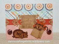Cat Party Card by  D.Ann | Newton's Birthday Bash stamp set by Newton's Nook Designs #newtonsnook