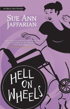 Hell on Wheels (The Odelia Grey Mysteries) by Sue Ann Jaffarian http://www.amazon.com/dp/0738718874/ref=cm_sw_r_pi_dp_XNF.tb1S95DG8