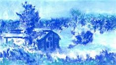 Monochromatic:  Blue