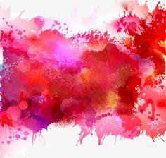 Vector watercolor, Gorgeous Watercolor, Vector Paint Background, Watercolor Paints PNG and Vector