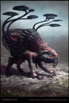 Nomancuan - creature concept by Cloister.deviantart.com on @deviantART
