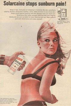 13 Red Hot Vintage Sunburn Ads