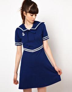 Pop Boutique Sailor Dress