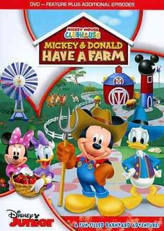 Mickey Mouse Clubhouse-Mickey & Donald Have A Farm (Dvd)