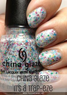 China Glaze It's A Trap-eze