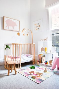 Little girls always need a pretty room to call their own! Check out these sweet girls nurseries and get inspired for your own little ones room!