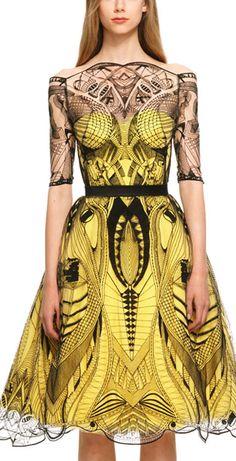 Alexander McQueen #diseño de #modas #NYFW