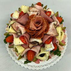 slaný dort, www.cukrovi-kuncovi.cz  jednohubky, kanapky, minichlebíčky, obložené mísy, chlebíčky Fruit Salad, Food, Fruit Salads, Essen, Meals, Yemek, Eten
