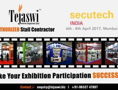 Secutech Exhibition Stall Designer Mumbai