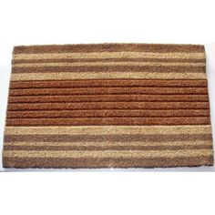 Entryway doormat to scrub dirt slush and mud off your shoes. Absorbs moisture and resists mold and mildew. Made of natural coconut fibers.  sc 1 st  Pinterest & 18\