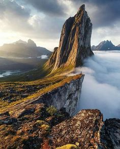 Segla Mountain ...Norway