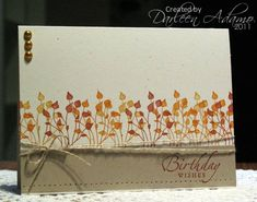 CAS136~Fall Pockets by darleenstamps - Cards and Paper Crafts at Splitcoaststampers