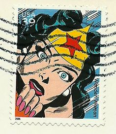 US Stamp 2006 - DC Comics Wonder Woman
