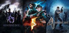 """""""Resident Evil 4"""", """"5"""" e """" 6"""" serão remasterizados para PS4 e Xbox One"""